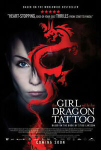 Girl with the Dragon Tattoo original movie poster