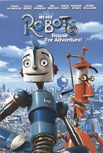 "Robots 2004 ORIGINAL MOVIE POSTER Dimensions: 23"" x 35"" -43"