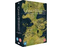 Game of Thrones Dvd Boxset Complete 1-3