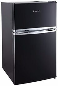 NEW GRADED RUSSELL HOBBS RHUCFF50B UNDER COUNTER FRIDGE FREEZER IN BLACK RRP £209