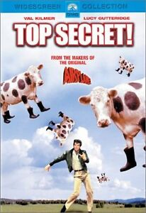 Top Secret dvd-Excellent condition + Eddie Murphy's Metro dvd