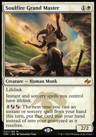 Magic The Gathering Mtg Soulfire Grand Master Fate Reforged   Lp