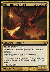 MTG Shards of Alara ALA NM Hellkite Overlord Foil