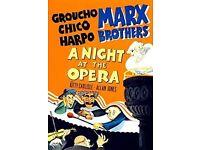 Marx Bros on VHS - 11 films
