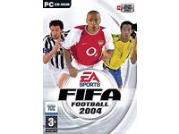 fifa football 2004 on pc for £4