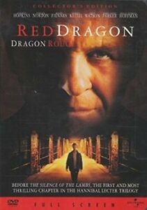 """Red Dragon"" DVD (Full Screen Edition) - Anthony Hopkins"