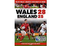 Wales v England RWC2015 (DVD)