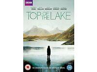 DVD 'Top of the Lake' 1st series...BBC Drama..