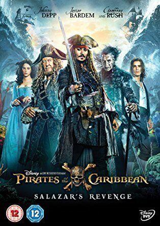 PIRATES OF THE CARIBBEAN - SALAZARS REVENGE with Johnny Depp - DVD FILM