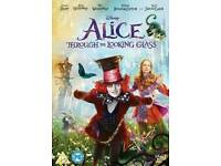 BRAND NEW SEALED - ALICE THROUGH THE LOOKING GLASS DVD