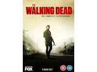 The Walking Dead - The Complete Fifth Season 5 Disc Set DVD