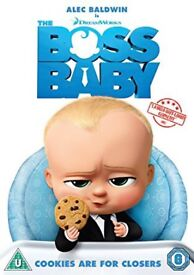 Boss baby dvd brand new sealed