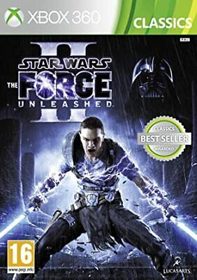 Star Wars: The Force Unleashed 1/2 I II Microsoft Xbox 360 Games Good Condition