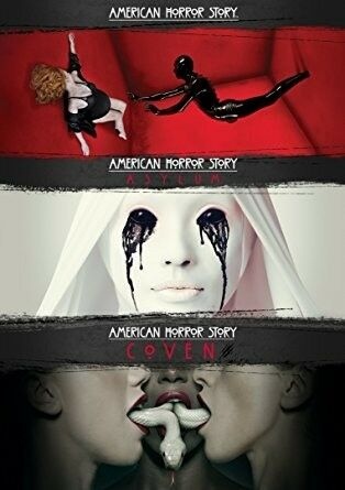 American Horror Story Seasons 1-3 DVD