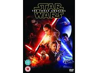 Star Wars : The Force Awakens DVD - Brand New and Sealed