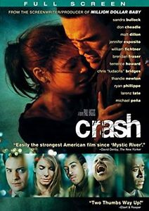 Crash-Full Screen dvd-Excellent condition