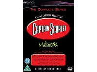 Captain Scarlet - Complete Series Box Set [DVD] [1967], Like New!