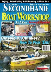 Secondhand Boat Workshop Mag - Outboard Pods, Transom Repairs Southport Gold Coast City Preview