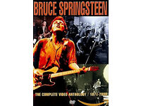 Bruce Springsteen and the Promise of Rock 'n' Roll Hardcover book and the Complete Anthology DVD.