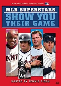 MLB Superstars Show You Their Game dvd + Nintendo game