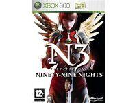 X box 360 Ninety Nine Nights game £10