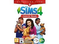 Sims 4 cats and dogs PC code