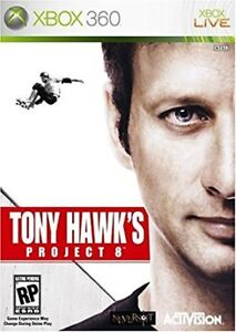 XBOX 360 Tony Hawk's Project 8