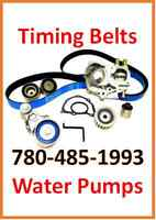 NEED YOUR TIMING BELT AND WATER PUMP REPLACED QUICK???