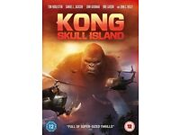 3x DVD's New and Sealed (Kong Skull Island, Suicide Squad & 2001: A Space Odyssey)