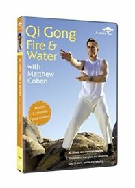 BARGAIN: Qi Gong Fire & Water / Tai CHi DVD for £4 instead of £8
