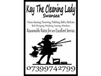 Kay the Cleaning Lady have openings for housekeeping/cleaning your home 20% off for OAP