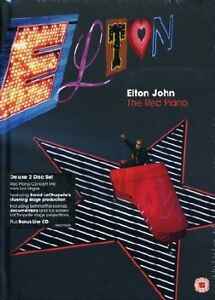 New Elton John The Red Piano,Deluxe Collection,2DVD +2CD,warr