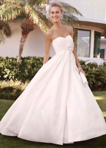 Shantung  Taffeta ballgown wedding dress