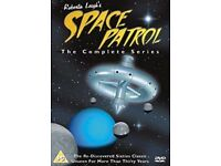 Space Patrol complete series-brand new unopened ( rare deleted item) very collectable offers invited