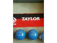 Brand new Blue Taylor Ace Bowls