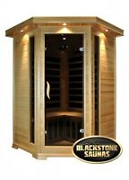 Classic corner two person infrared sauna on sale now $2999 , was