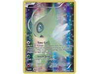 Celebi XY111 XY Black Star Promo, Full Art Holo Pokemon Card