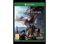 Monster Hunter Worlds Xbox one