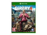 FARCRY 4 LIMITED EDITION XBOX 1. RRP £23.99