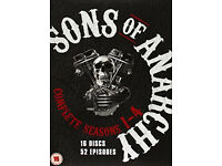 Sons of Anarchy - Season 1-4 [DVD] . As new