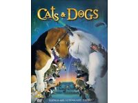 Cats & Dog DVD New