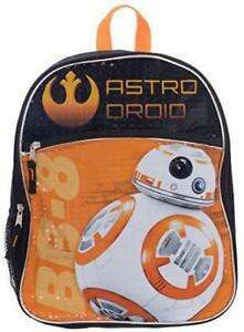 Disney Star Wars BB-8 Backpack for Kids 15 Inch Full Size School Bag