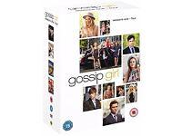 Gossip Girl dvds. Seasons 1, 2, 3 + 4
