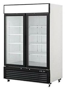 2 Door Glass Sliding Coolers - New OMCAN Cooler Priced To Sell - We Also Sell True / Kool-it / Kelvinator
