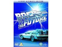 Back to the future Trilogy 4 DVD Boxset - Used but in great condition