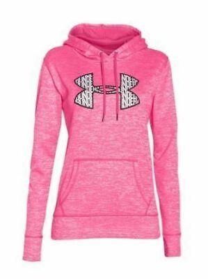 Under Armour Women's Armour Fleece Big Logo Twist Hoodie ()