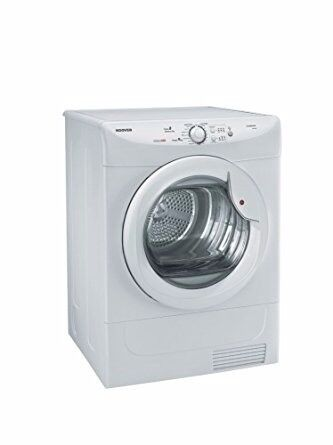 Ex-Lease Hoover VHC691B-80 VisionHD 9kg Freestanding Condenser Tumble Dryer - White