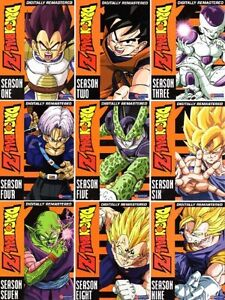 Looking for Dragon Ball Z seasons on DVD