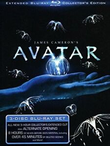 AVATAR 3 DISC EXTENDED EDITION BLURAY