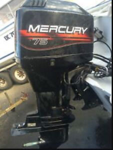 1996 Mercury 75hp out board